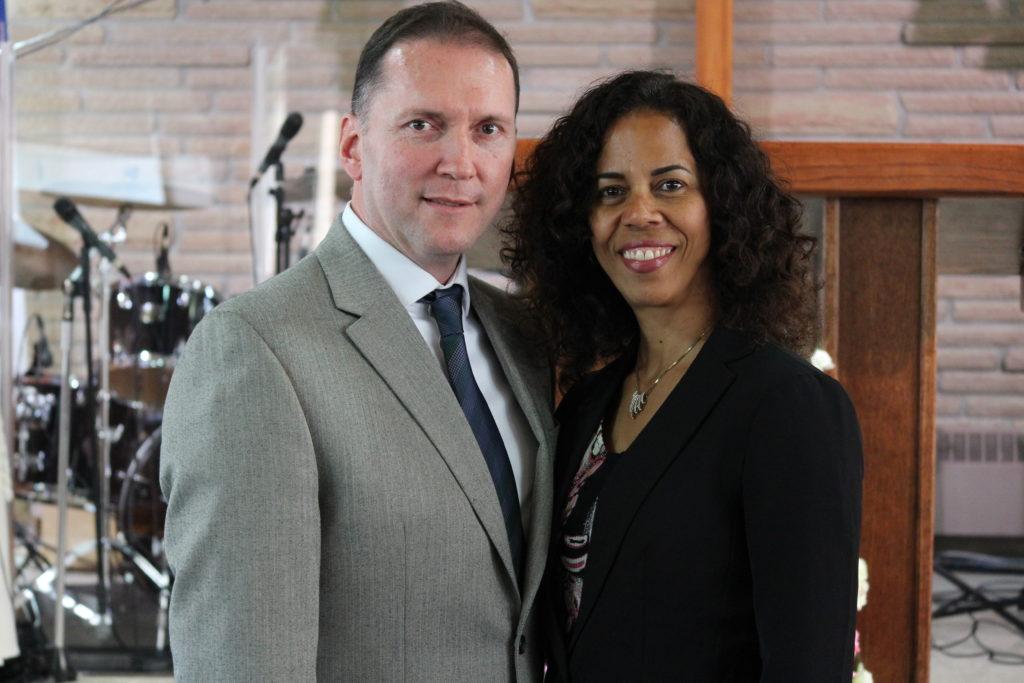 Hermann e Ibeth Rivadeneira